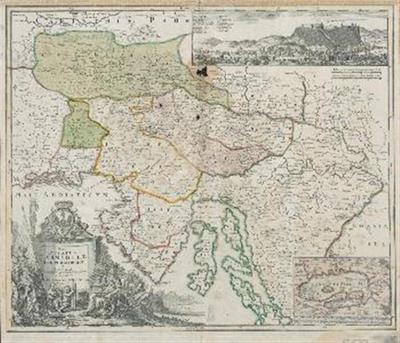 Tabula Ducatus Carniola Vindorum marchia et Histria
