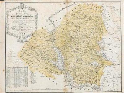Neueste Special Karte des Gratzer Kreises im Herzogthume Steyermark…