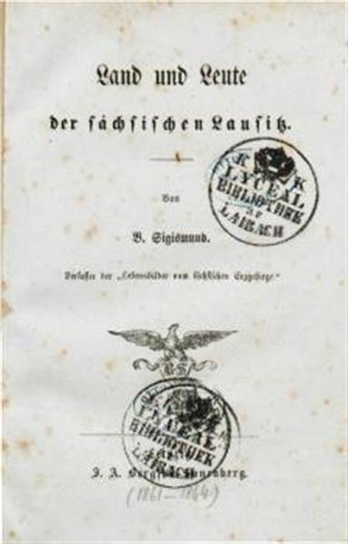 Land und Leute der sächsischie Lausitz
