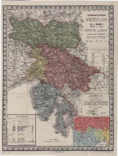 Österreichisches Küstenland Gorz u. Gradiska – Istrien u. Triest – Kärnten u. Krain