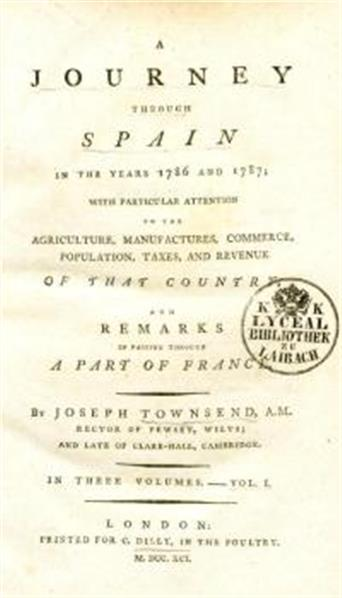 A journey through Spain in the years 1786 and 1787; with particular attention to the agriculture, manufactures, commerce, population, taxes, and revenue of that country; and remarks in passing through a part of France
