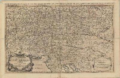 Partie du cercle d'Austriche, ou sont les duche's de Stirie, de Carinthie, de Carniole, et autres estats Hereditaeires e la Maison d'Austriche
