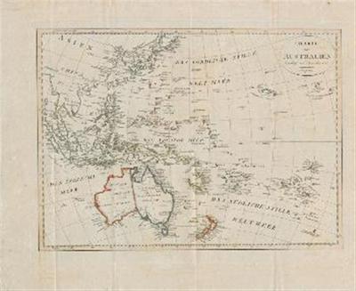 Karte von Australien berichtigt im November 1812.