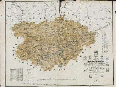 Neueste Special Karte des Bruker Kreises im Herzogthume Steyermark