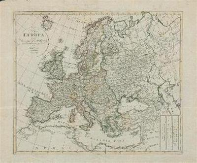 Europa; nach den vorzüglichen Hülssmitteln neu entworssen und gezeichnet