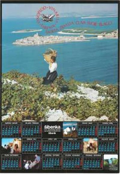 Vinoplod, Vinarija Šibenik; 1985; Škrta zemlja čuva svoje blago