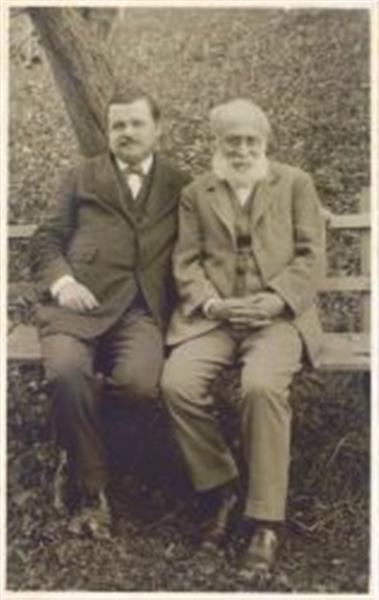 Janko Šlebinger (1876-1951) in Franc Simonič (1847-1919)
