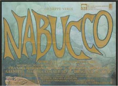 Giuseppe Verdi: Nabucco; dirigent Francesco Corti