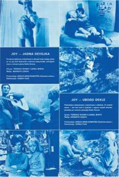 Joy - ubogo dekle; igrata Terence Stamp in Carol White, režija Kenneth Loach; igrata Terence Stamp in Carol White, režija Kenneth Loach; Joy - jadna devojka; Joy - jadna devojka