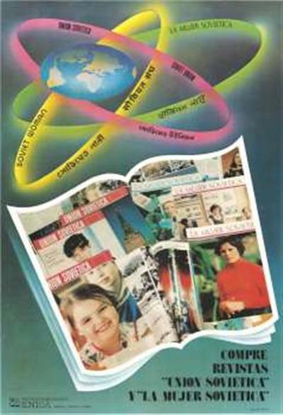 Union Sovietica, La Mujer sovietica; compre revistas