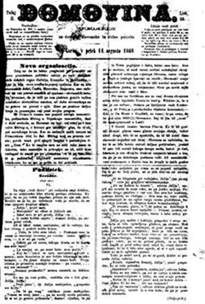 Domovina: list posebno za primorsko-deželne, pa tudi sploh slovenske zadeve
