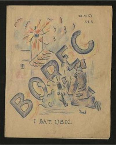Borec; periodično glasilo Cankarjeve brigade