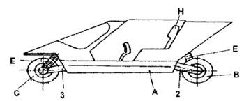 Ergonomic Motorcycle - Side View