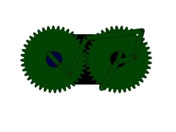 Kurventriebfreier Antrieb eines schwingenden Vorgreifers