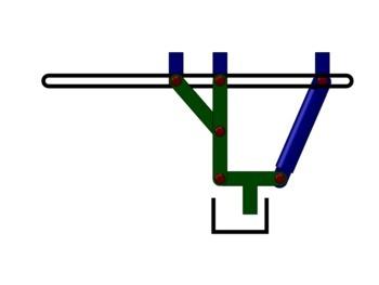 Bearbeitungsmaschine zum mehrachsigen Bewegen eines Werkzeuges oder Werkstückes