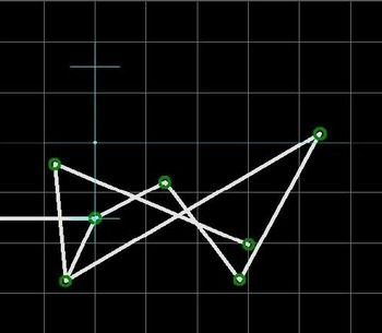 Kinematisch optimierte Handzange mit paralleler Backenführung nach Hain - Schematische Darstellung