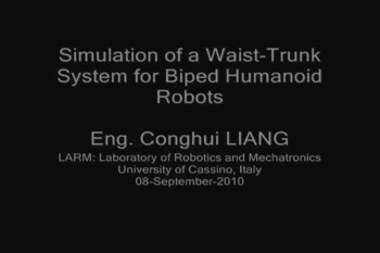 Animation of simulation Matlab of LARM Waist-Trunk in Dec2010