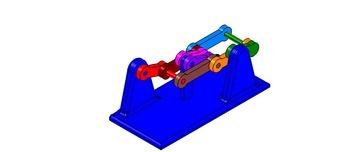 ISO-Ansicht welche den Mechanismus mit der dmgId 3392025 zeigt