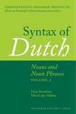 Syntax of Dutch : Nouns and Noun Phrases - Volume 2