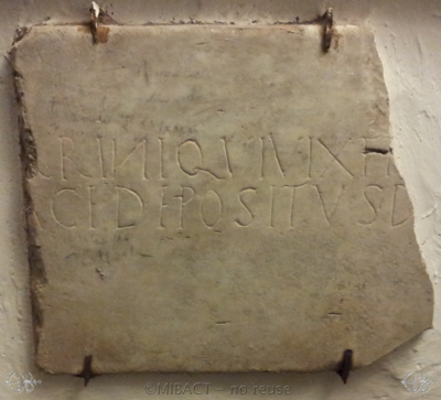 Inscription from Rome - ICVR I, 105