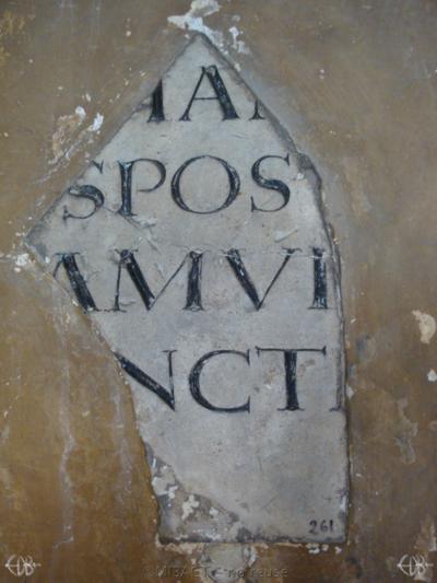 Inscription from Rome, Coem. ss.Marcellini et Petri - ICVR VI, 16961