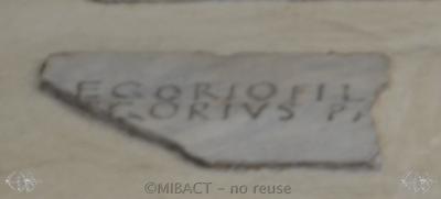 Inscription from Rome, Coemeteria inter s.Felicitatem et viam Anapo - ICVR IX, 23849