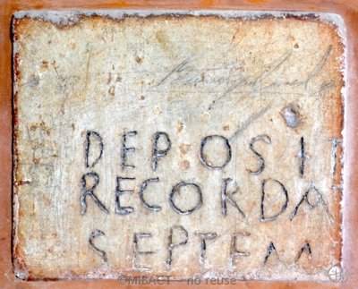 Inscription from Rome - ICVR I, 286