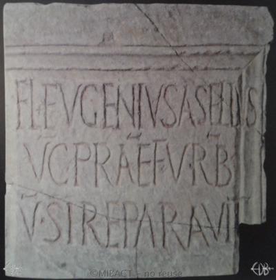 Inscription from Rome, Basilica s.Pauli apostoli - ICVR II, 4789