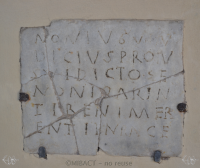 Inscription from Rome - ICVR I, 613