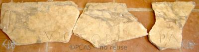 Inscription from Rome, Coem. Trebii Iusti - ICVR VI, 15853