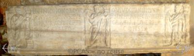 Inscription from Rome, Coem. Cyriacae ad s.Laurentium - ICVR VII, 17449