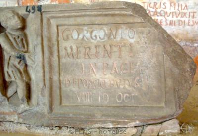 Inscription from Rome, Coem. Cyriacae ad s.Laurentium - ICVR VII, 17843