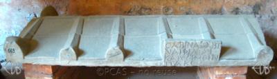 Inscription from Rome, Coem. Cyriacae ad s.Laurentium - ICVR VII, 18014