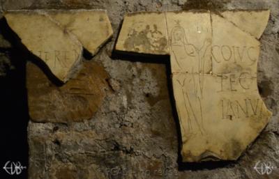 Inscription from Rome, Coem. s.Agnetis - ICVR VIII, 21099.c