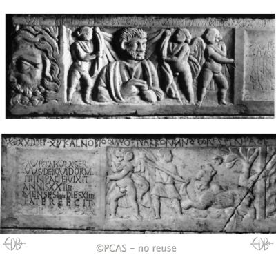Inscription from Rome, Coem. Maius - ICVR VIII, 21603.a