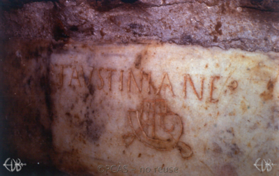 Inscription from Rome, Coem. Priscillae - ICVR IX, 25152
