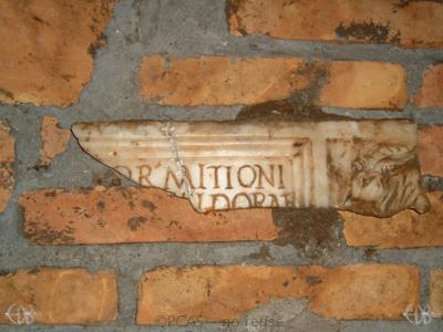 Inscription from Rome, Coem. Priscillae - ICVR IX, 25279