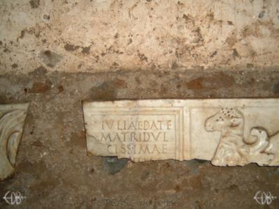 Inscription from Rome, Coem. Priscillae - ICVR IX, 25289