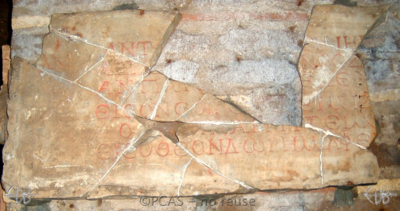 Inscription from Rome, Coem. Priscillae - ICVR IX, 26236