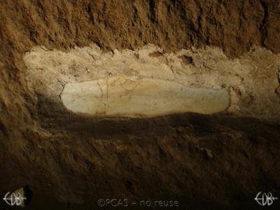 Inscription from Rome, Coem. Domitillae pars inferior - ICVR III, 7326.b