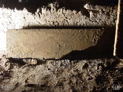 Inscription from Rome, Coem. Domitillae pars superior - ICVR III, 7659