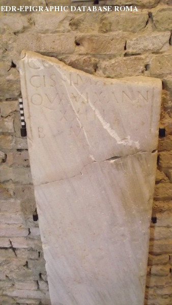 Inscription from Forum Popili