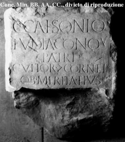 Inscription from Puteoli