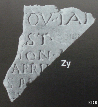 Inscription from Ostia