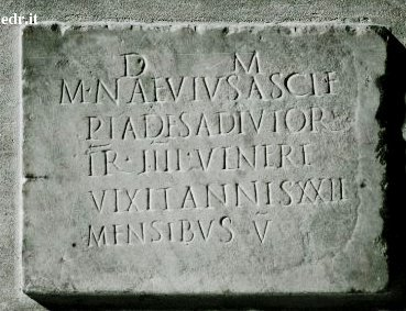 Inscription from Misenum