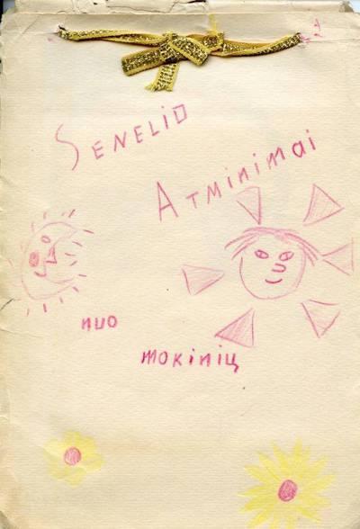 Atminimų albumėlis. 1940