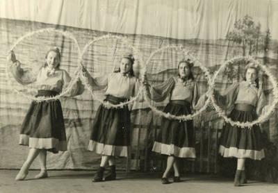 """Baletas-inscenizacija """"Pavasario sapnas"""". 1955"""