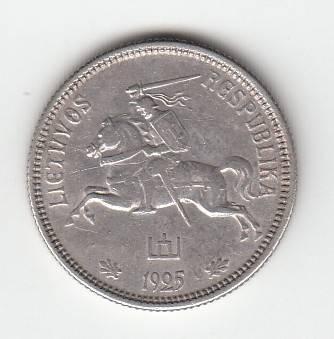 Juozas Zikaras. Apyvartinė moneta, 2 litai, Lietuva