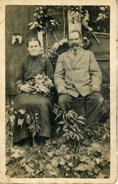 Nežinomas fotografas. Veronika ir Stanislovas Sabaičiai. 1930
