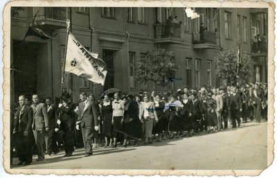 """Nežinomas fotografas. Fabriko """"Sanitas"""" kolektyvas. 1940"""